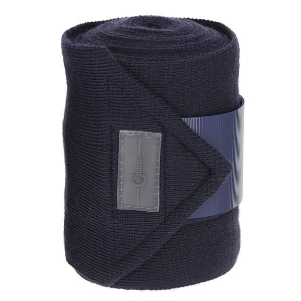 Knitted Bandage 4 pcs L350 cm W12 cm blue