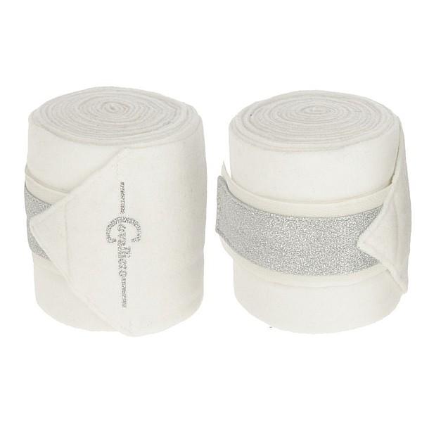 Fleece Bandage Empara 4 pcs L300 cm W12 cm white