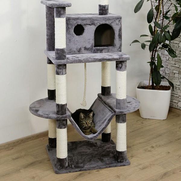 Cat Tree Matteo 59x52xH162 grey