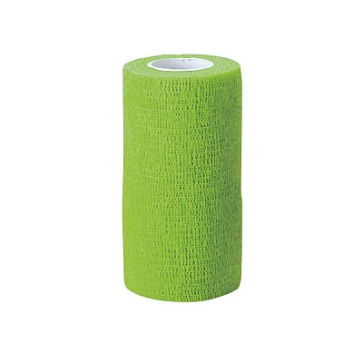 Cohesive Bandage EquiLastic Width 7,5cm Green
