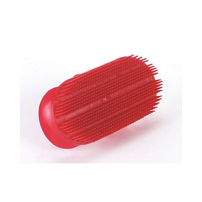 Needle Curry Comb 17,5 x 8,5cm Red