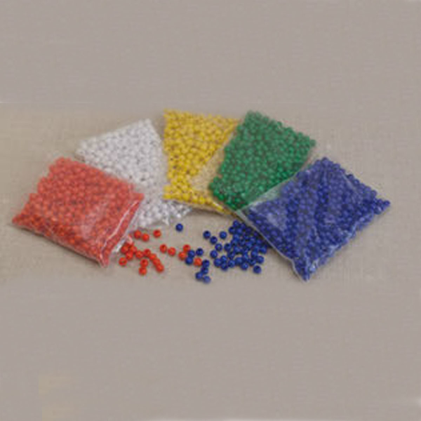 Πλαστικές Χάντρες 10 Τεμάχια Πράσινες