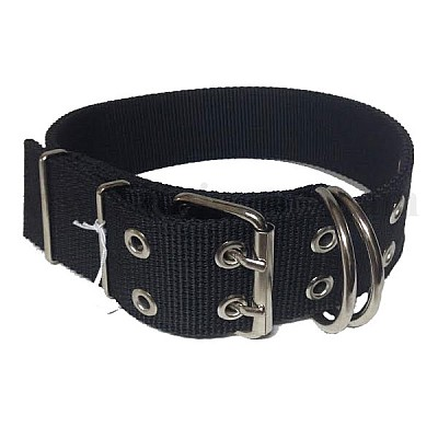 Extra Strong Double Dog Collar 4Χ73cm Black
