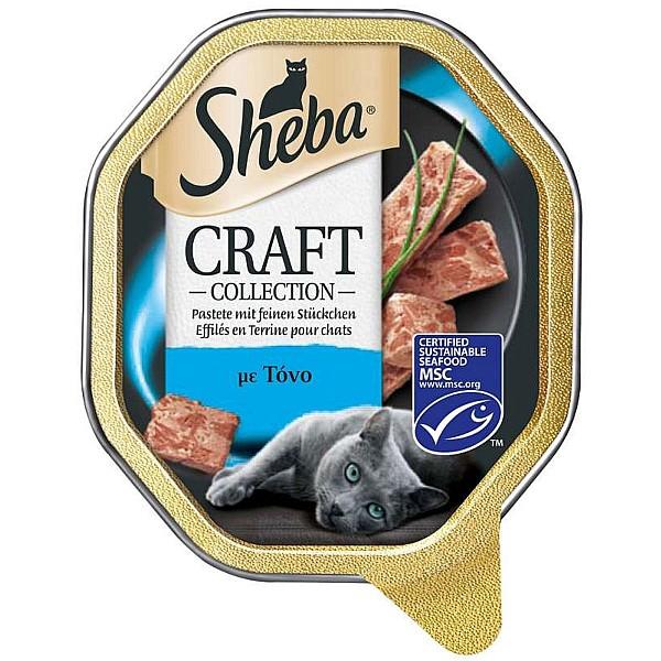 Sheba Craft Τόνος Πατέ 85gr