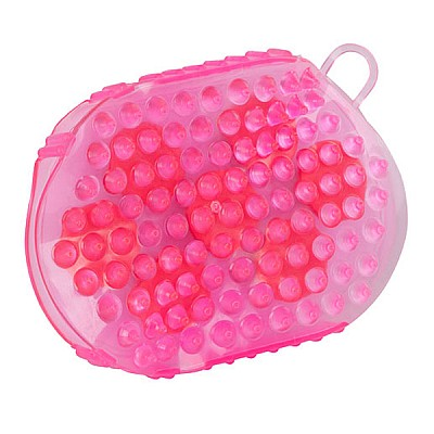 Magnetic Massage Curry Comb pink