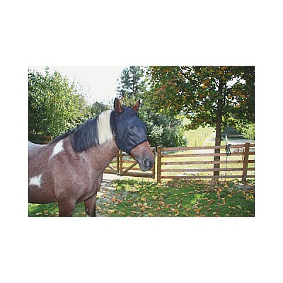Fly Mask With Cut-Outs For The Ears Thoroughbred