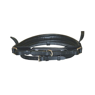 Exclusive Leather Snaffle Bridle Swedish , Thoroughbred , Black  WITHOUT BIT