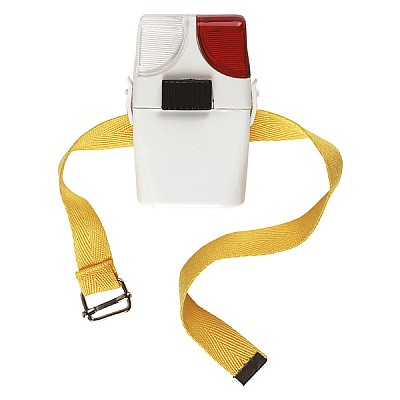 Boot Lamp White/Red
