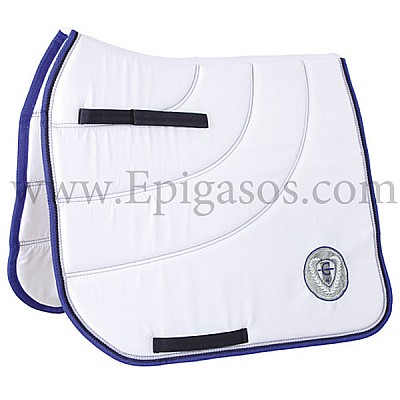Saddle Pad Covalliero Collection dressage White