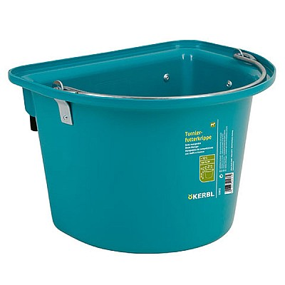Show Manger with Hook-in Bail + handle 12 Lt Aquamarine