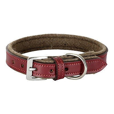 Collar Royal Pets30mmx46-54cm  brown / red