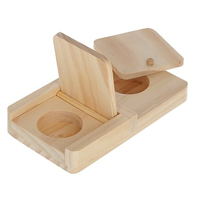 Thinking & Learning Toy for Rodents Snack Box 21x11x3.5 cm