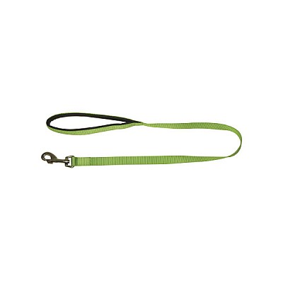 Leash Miami With Softgrip Length 100 cm Width 20 mm Green