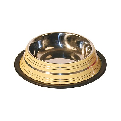 Stainless Steel Bowl Coloured 900ml