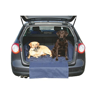 Protective Rug for Car Boot dark blue for A4, Passat, 5 BMW