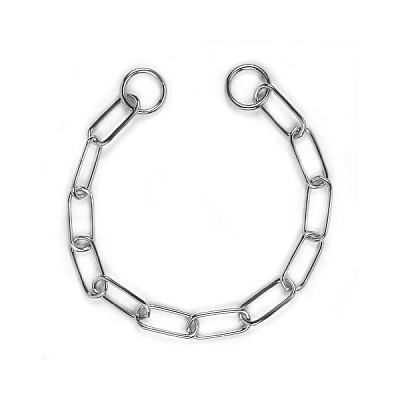 Chain Collar With Long Links Length 55 cm Thickness 3,0 mm