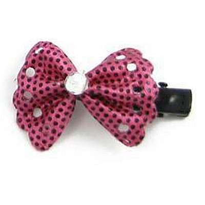 Dog Hair Clips Red
