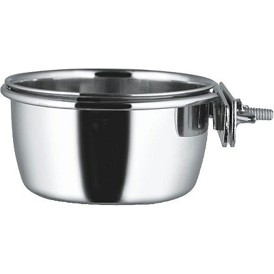 Bowl for cages with nut clamp 12,5cm/0,6l