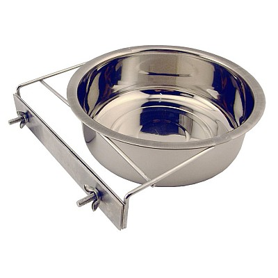 Bowl for cages with nut clamp 17cm/1,4l